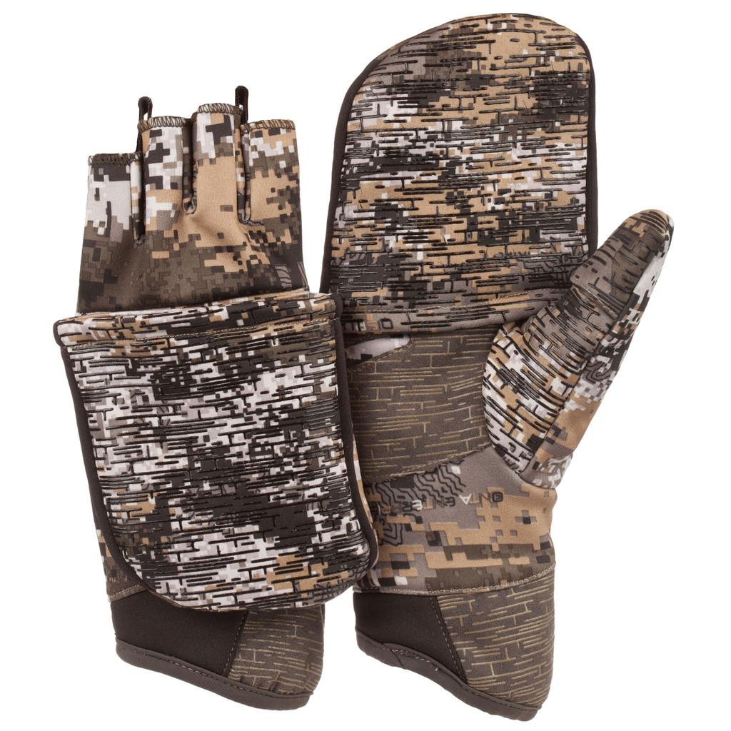 Men's Disruption® pattern midweight Hunting Gloves.