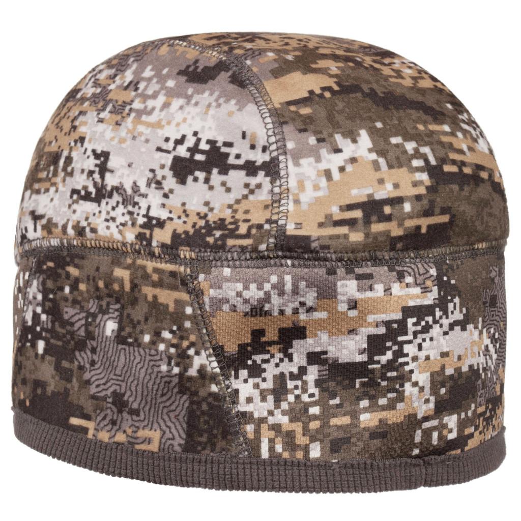 Rear view: Disruption® Hat - InVelvet® low pile fleece ear band.
