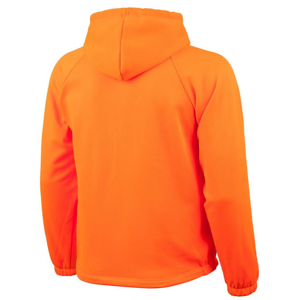 Rear view: Blaze Zip Up Jacket - Hood.
