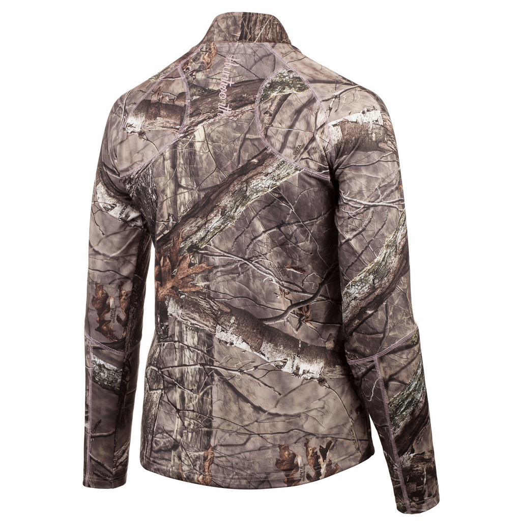 Ladies Mid Weight, Terry Knit ¼ Zip Hunting Pullover (Hidd'n®)