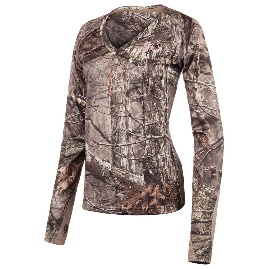 women's Hidd'n® pattern Light Weight Hunting Long Sleeve Shirt.