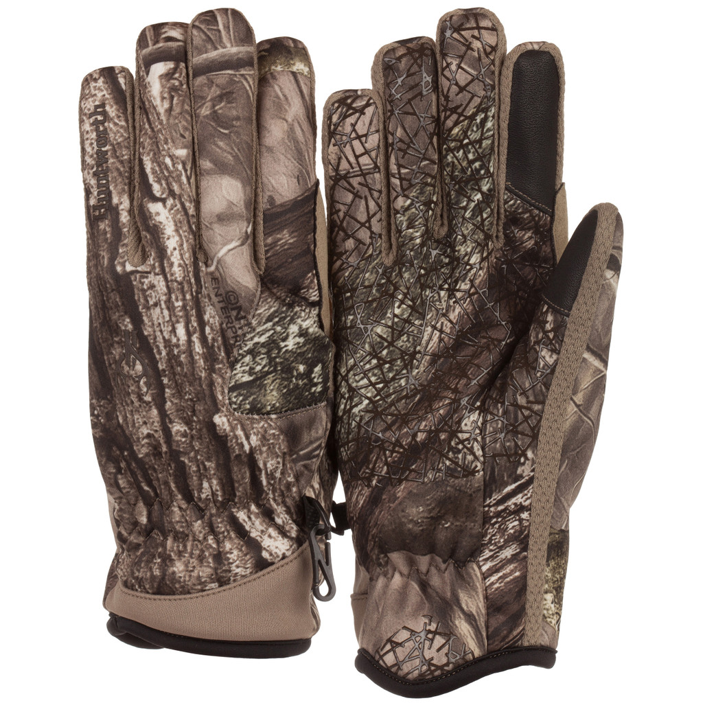 Men's Hidd'n® pattern midweight Water Resistant Hunting Gloves.
