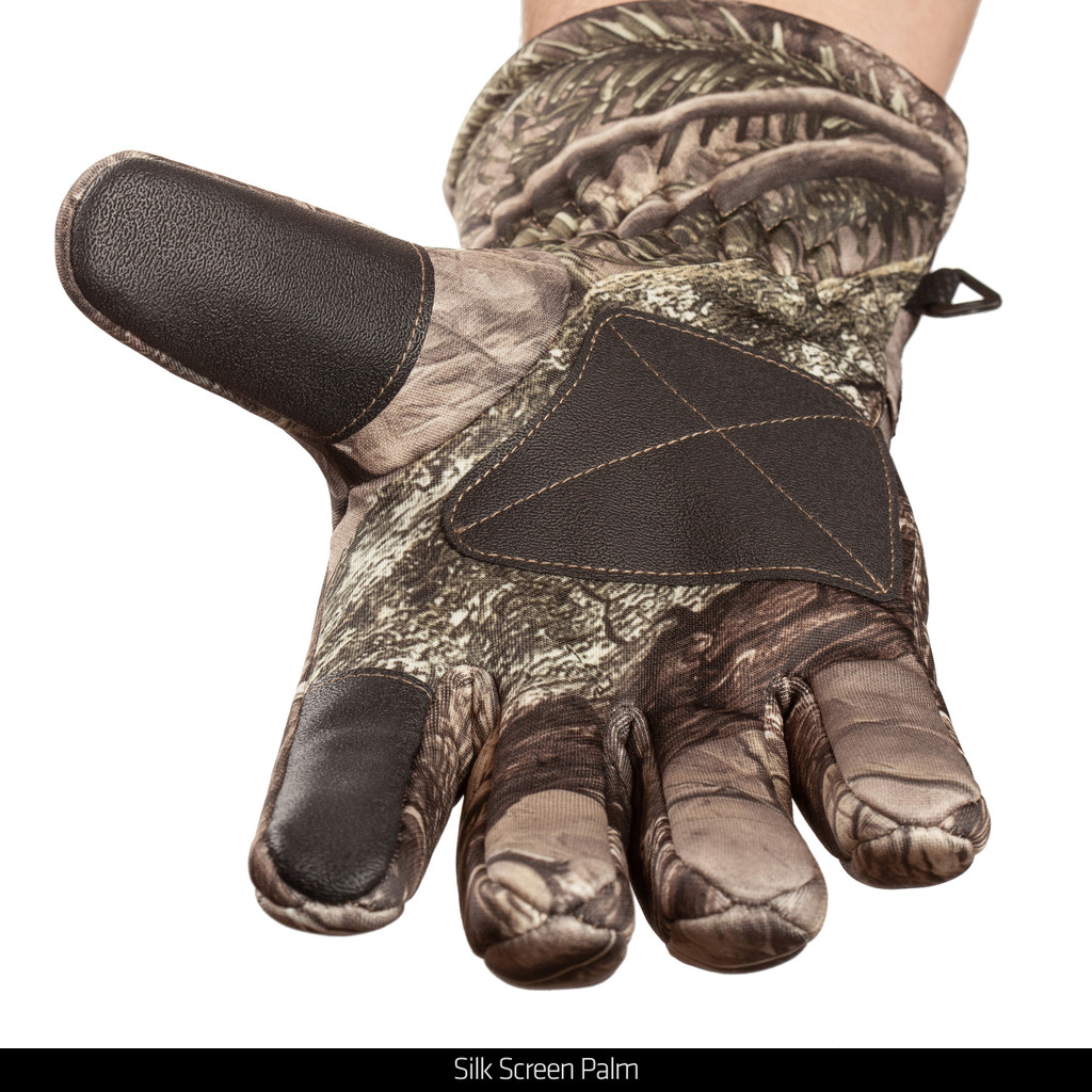Heavyweight Insulated Hunting Gloves - Silk screen palm.