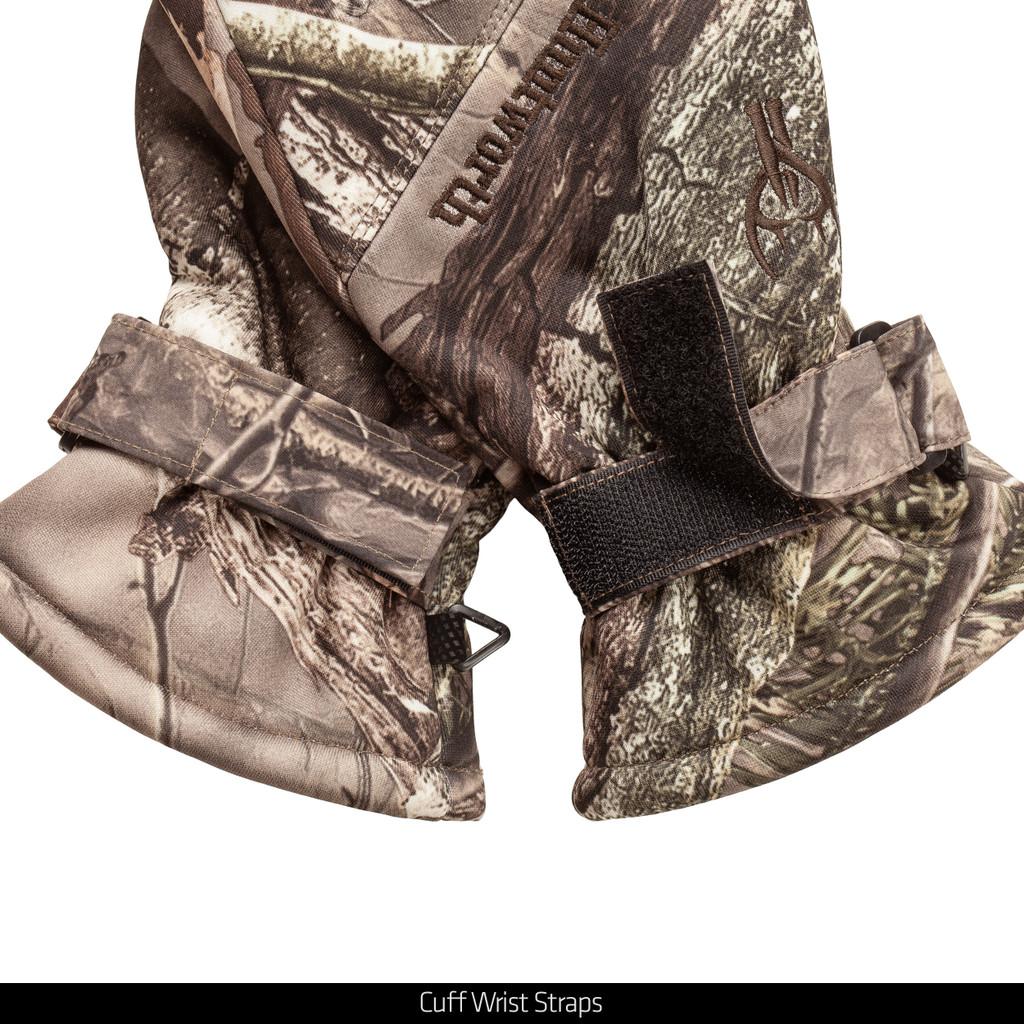 Hidd'n® pattern gloves - Cuff wrist straps.