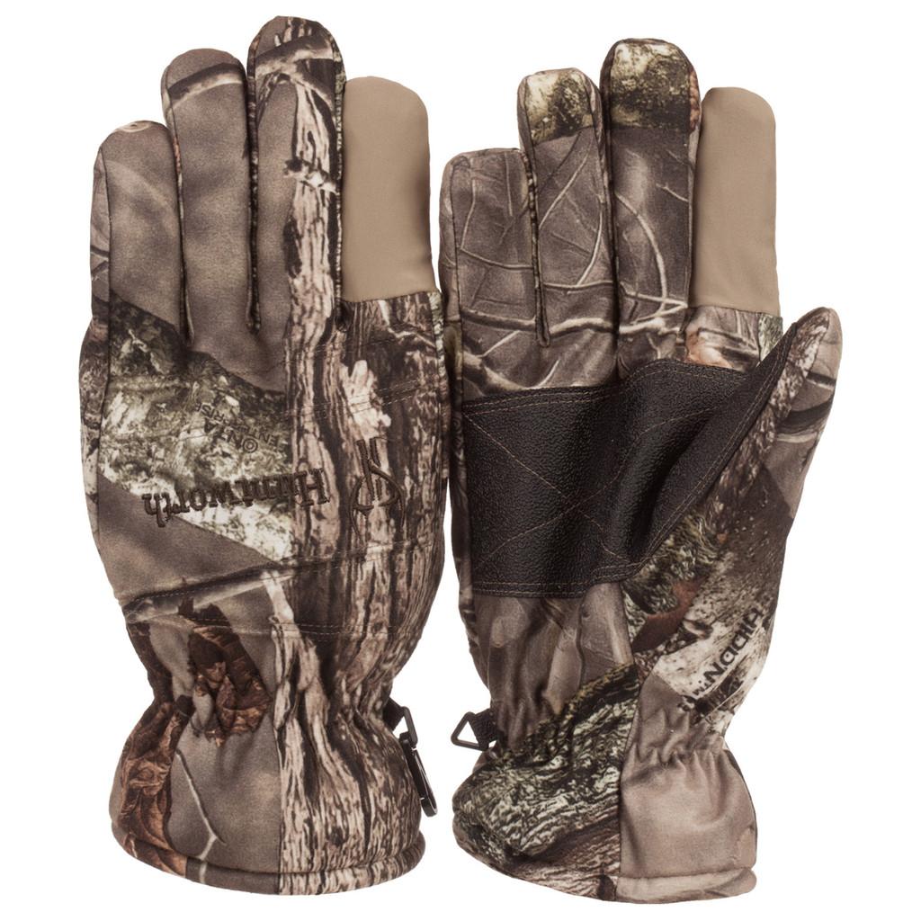 Men's Hidd'n® pattern heavyweight Waterproof Hunting Gloves.