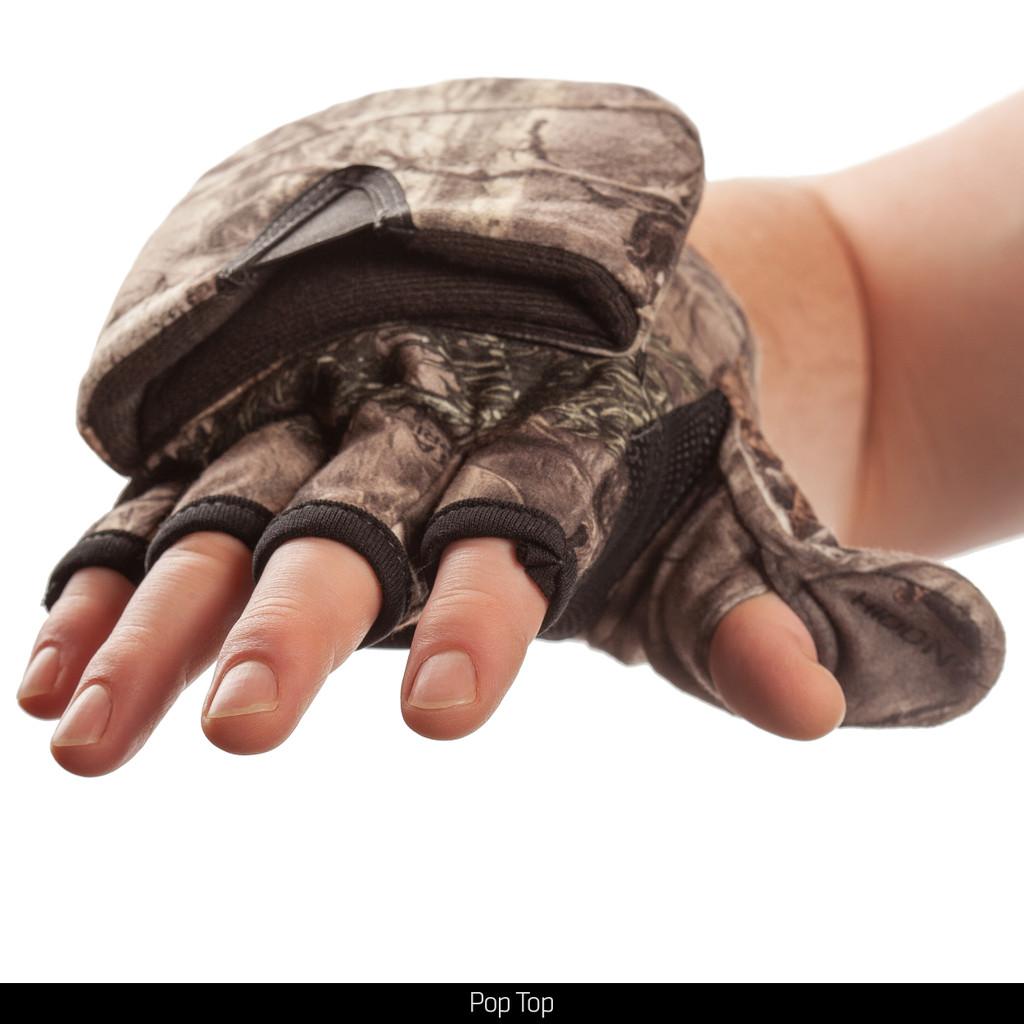 Hidd'n® pattern Heavyweight glove - Pop top.
