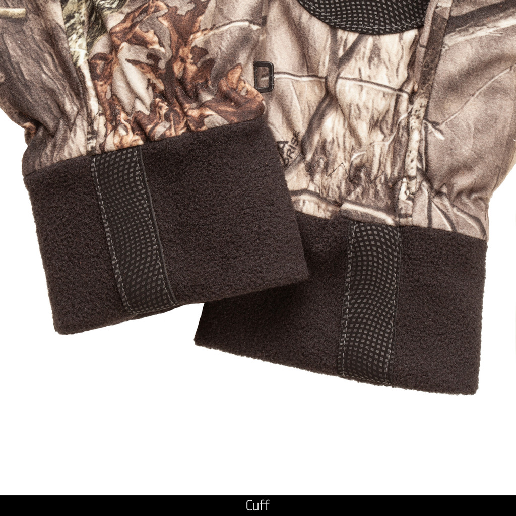 Heavyweight Hunting Pop Top Glove - Cuff detail.