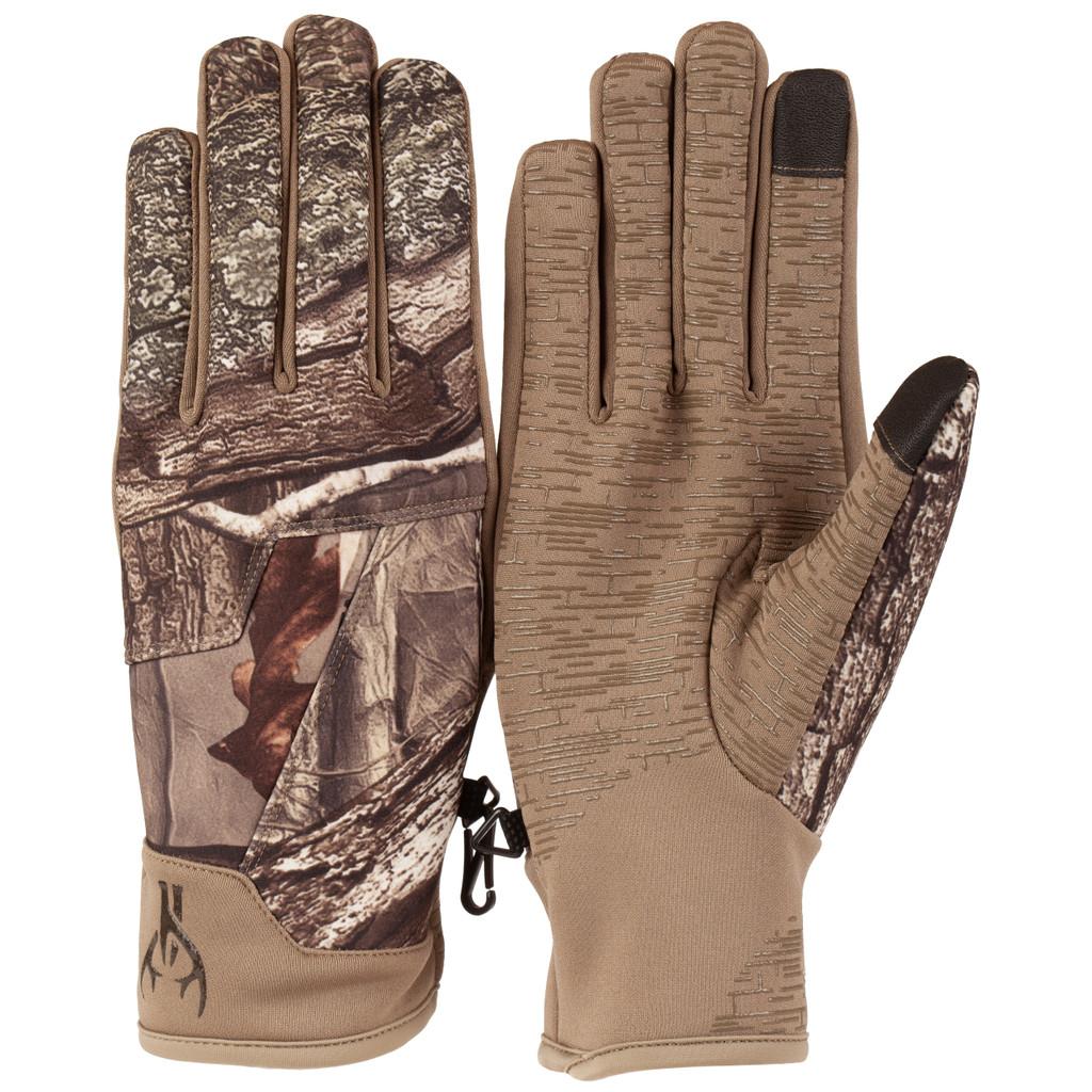 Men's Hidd'n® pattern lightweight Windproof Hunting Gloves.