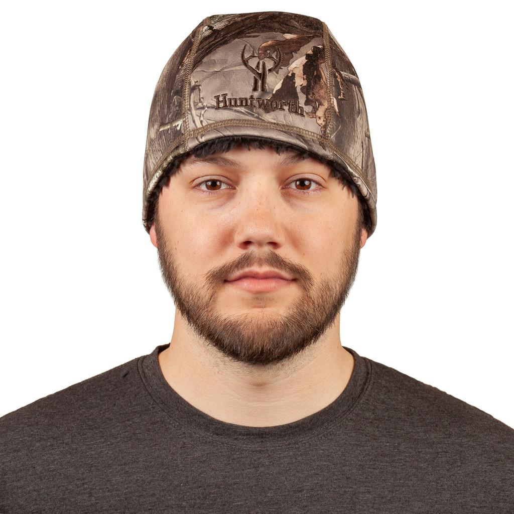 Hidd'n® pattern Hat - Fully lined with plush sherpa fleece.