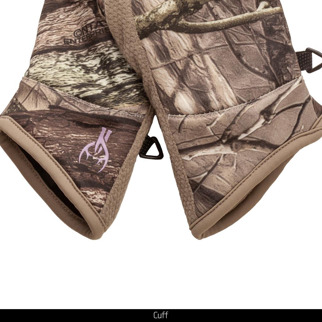 Hidd'n® Midweight gloves - Cuff detail.