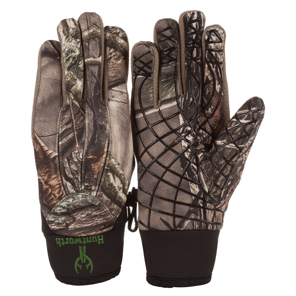 Youth's Hidd'n® pattern midweight Windproof Hunting Gloves.