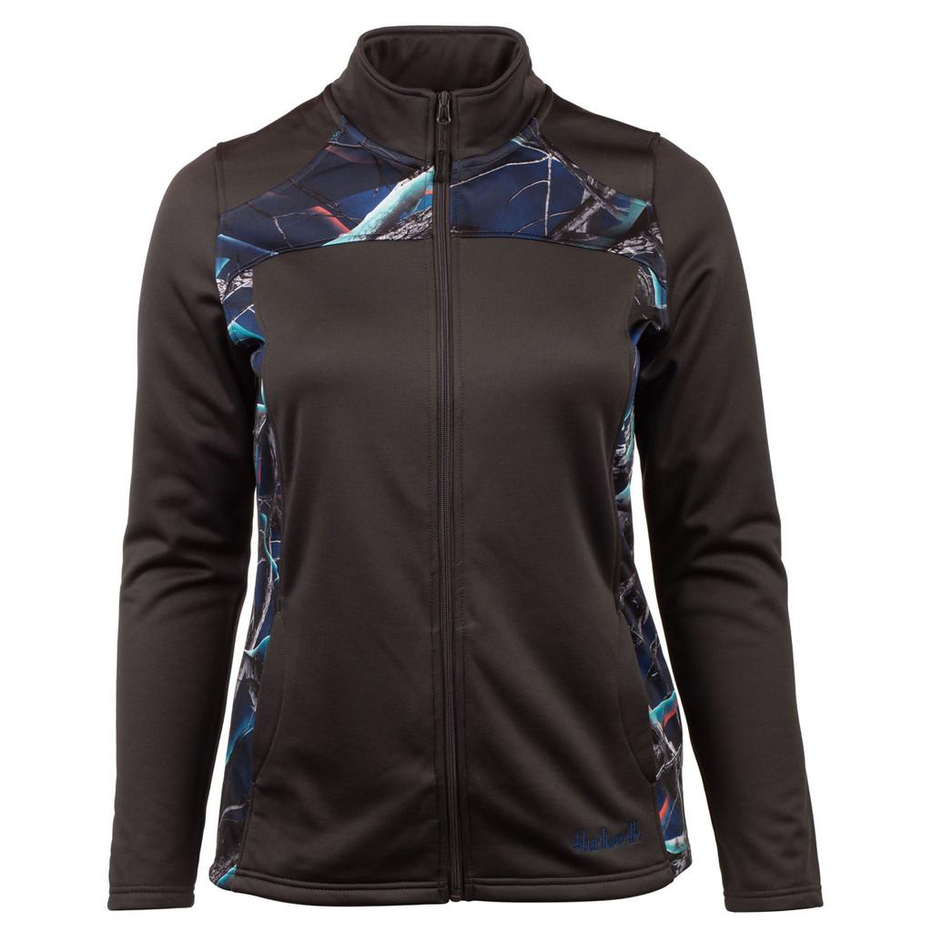 Camo Jacket - 2-way performance stretch fleece.