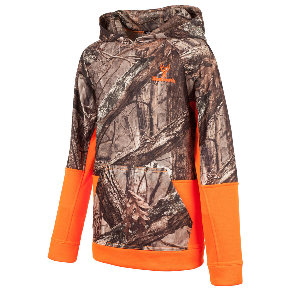 Youth's Hidd'n® pattern midweight Hunting Hoodie.