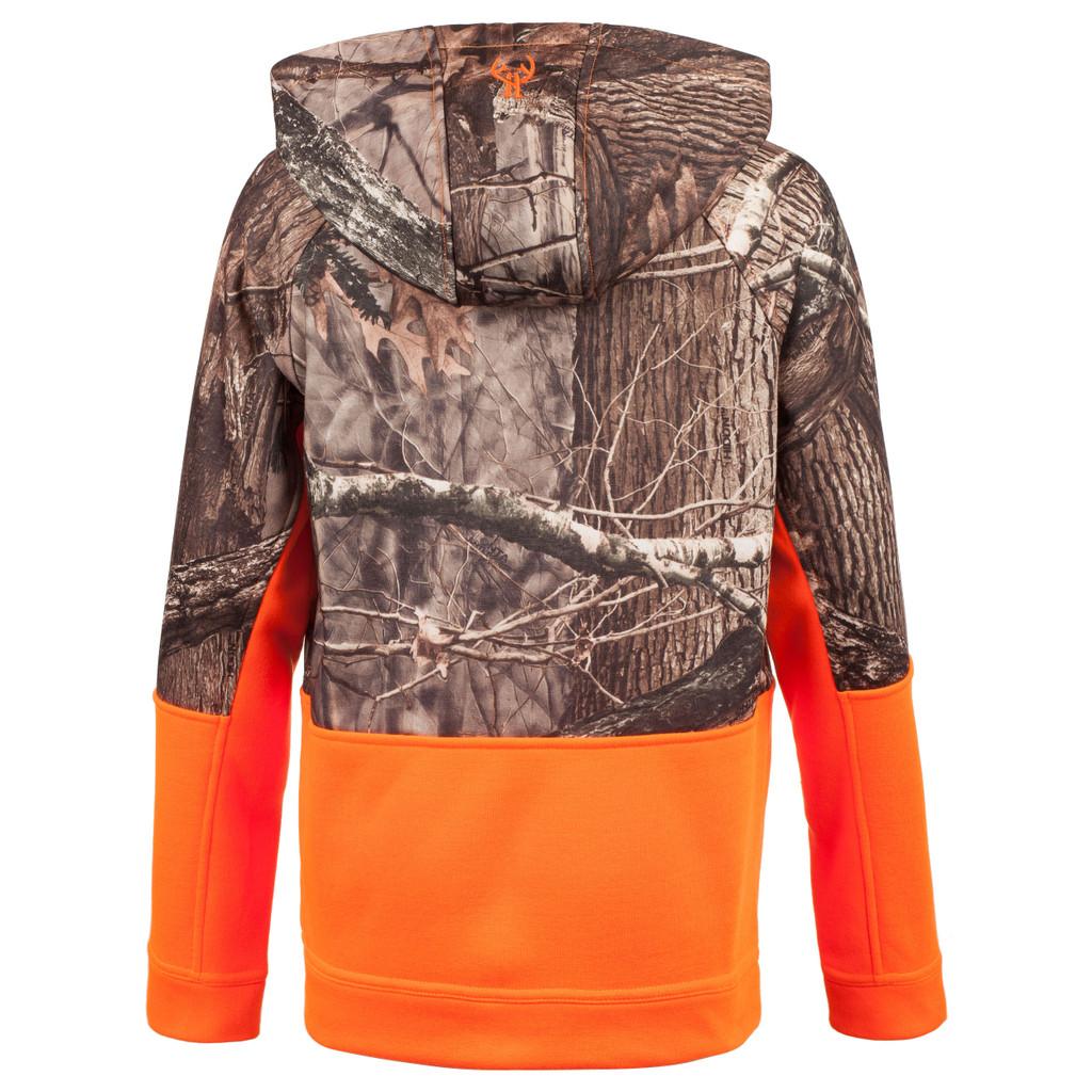 Hidd'n® pattern Hunting Hoodies - Drop tail hem.