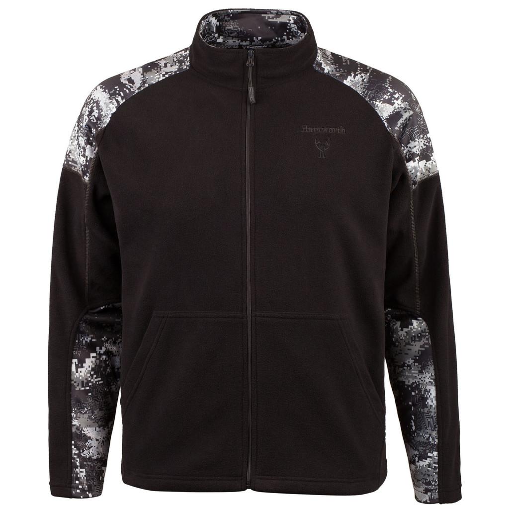 Men's Microfleece Jacket (Black / Disruption® Black)