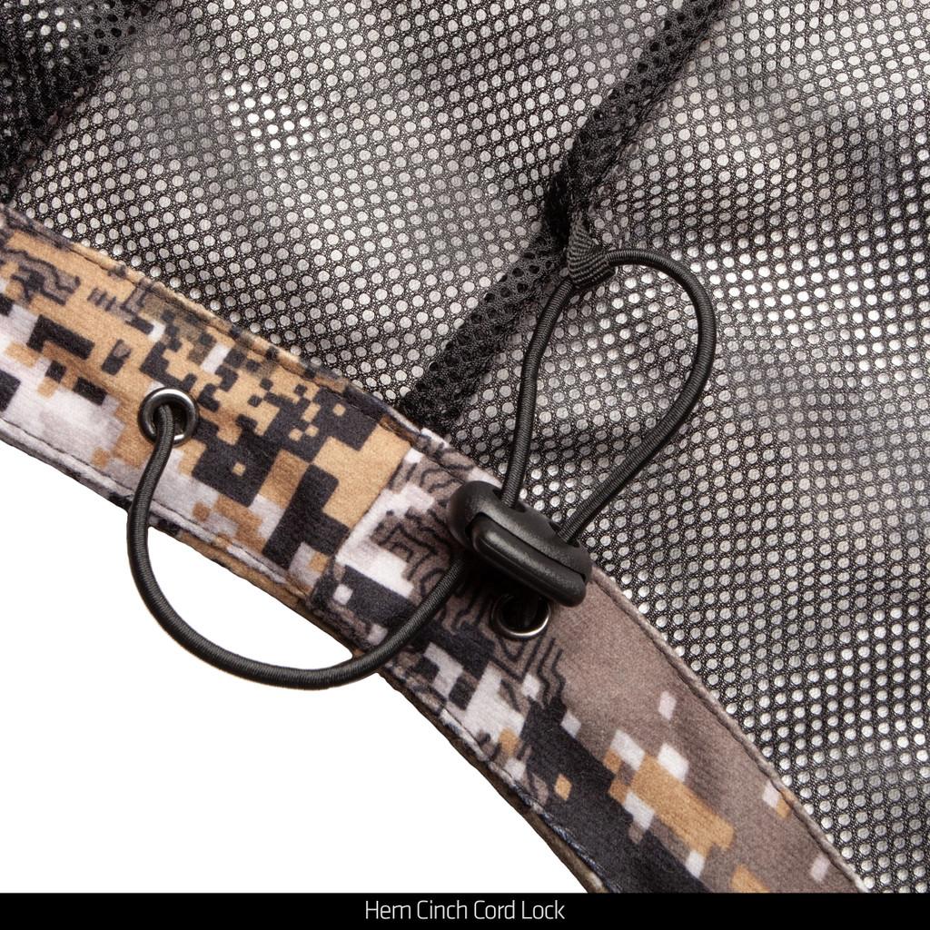 Disruption® Waterproof Rain Jacket - Adjustable cinch cord with cord locks in hem.