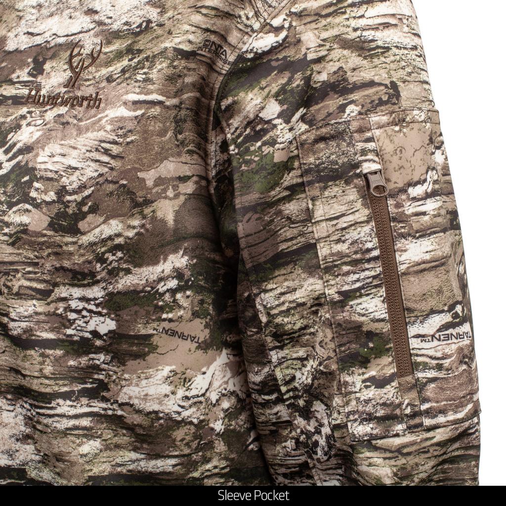 Tarnen® pattern hunting Pullover - Sleeve pocket.