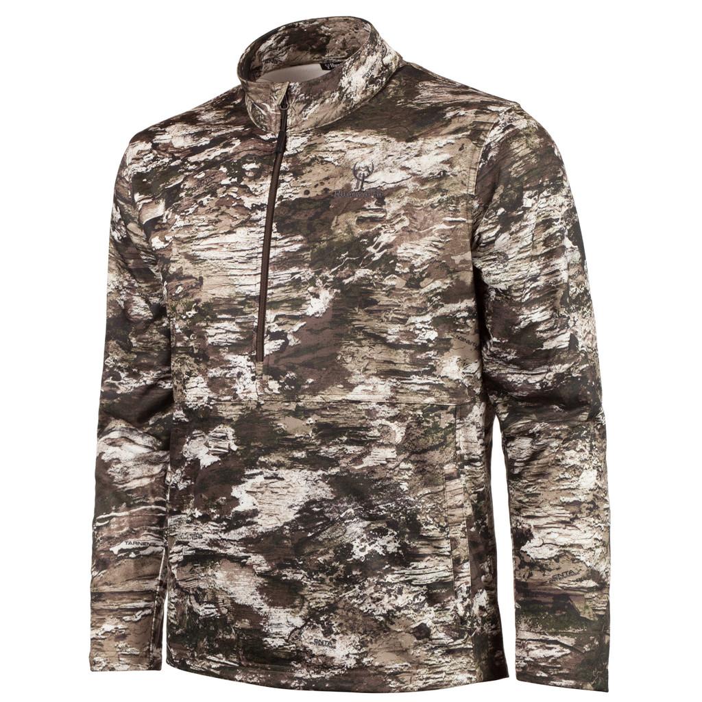 Men's Tarnen® pattern midweight hunting 1/2 Zip Pullover.