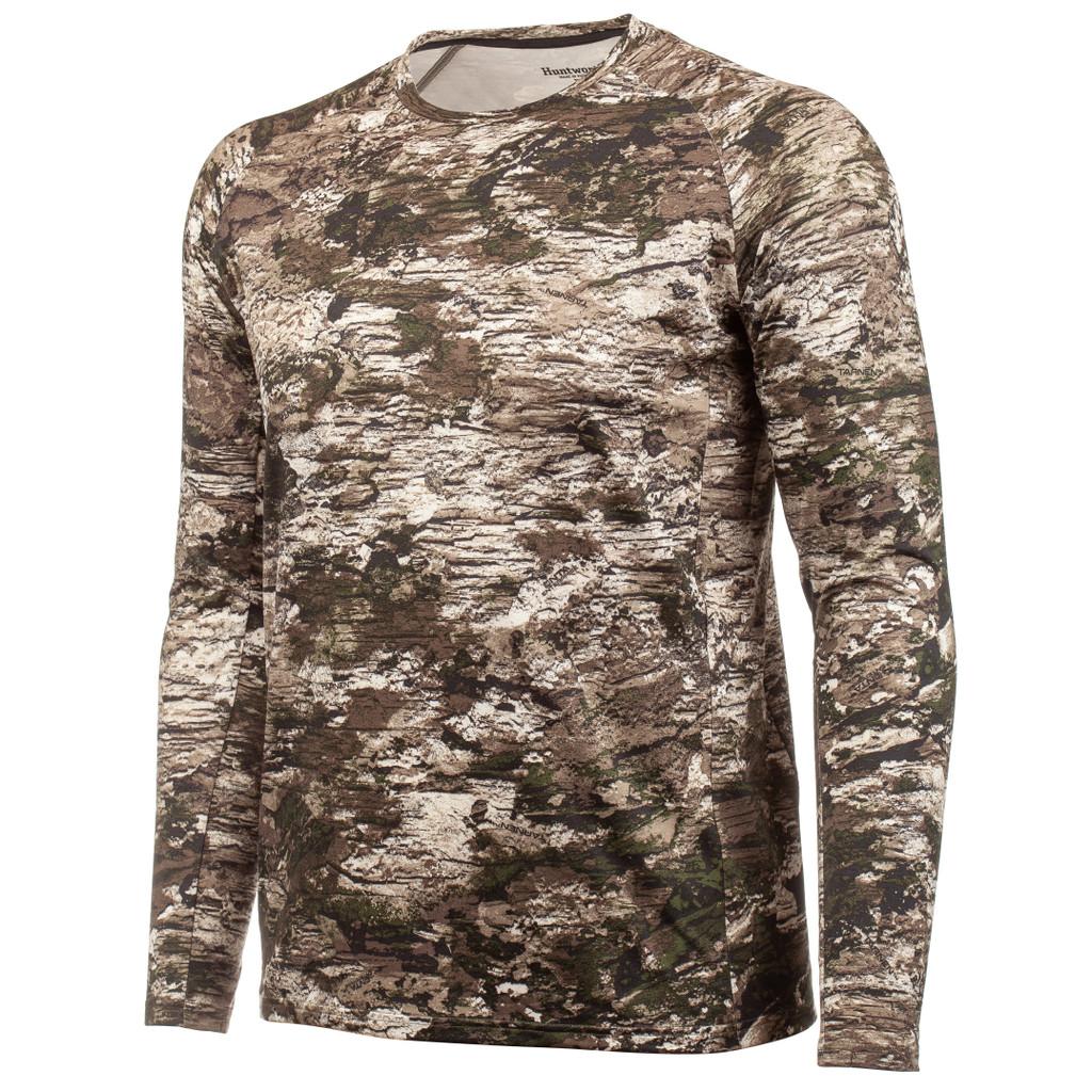 Men's Tarnen® pattern midweight Hunting Base Layer Shirt.