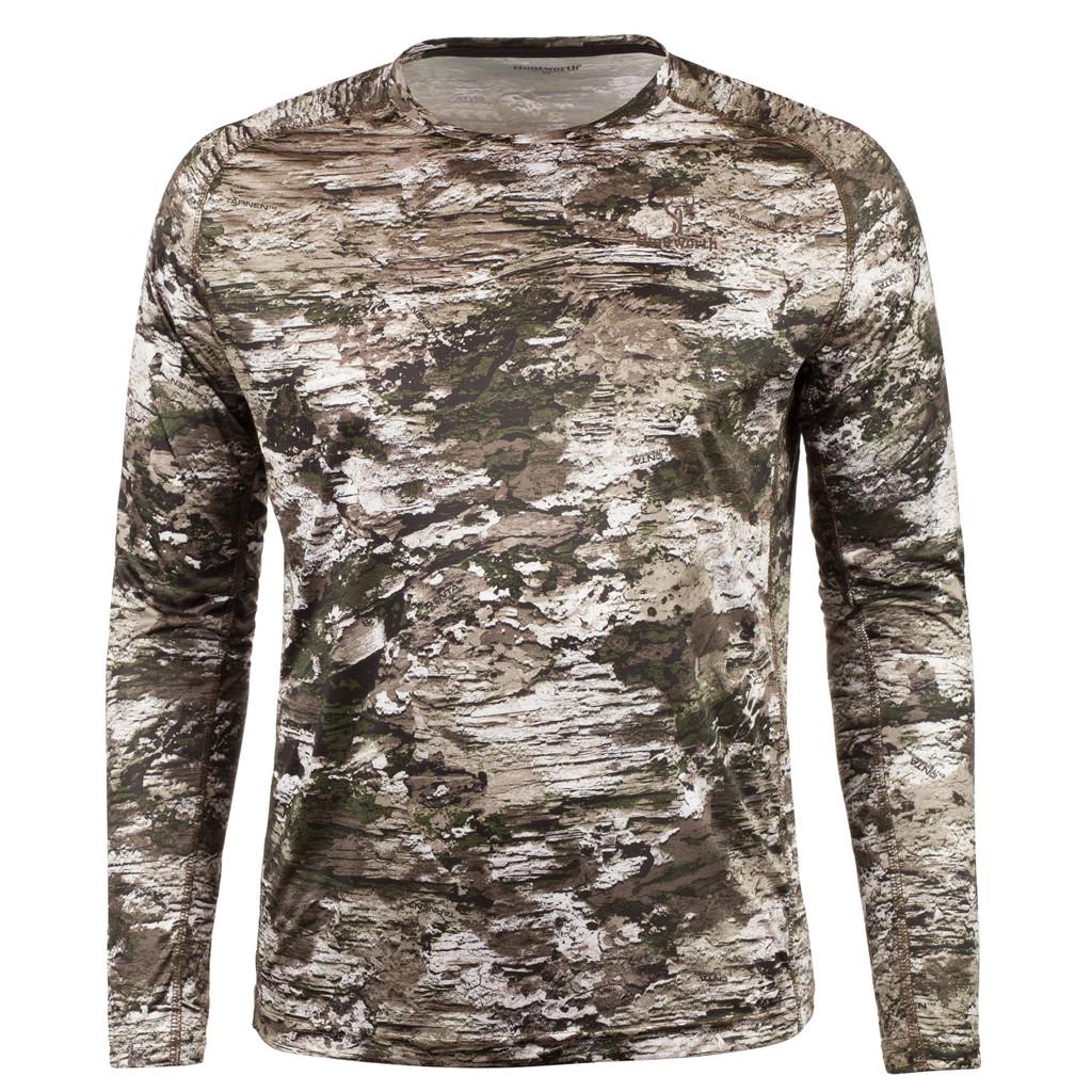 Rear view: Tarnen® Long Sleeve Shirt - Relaxed fit.