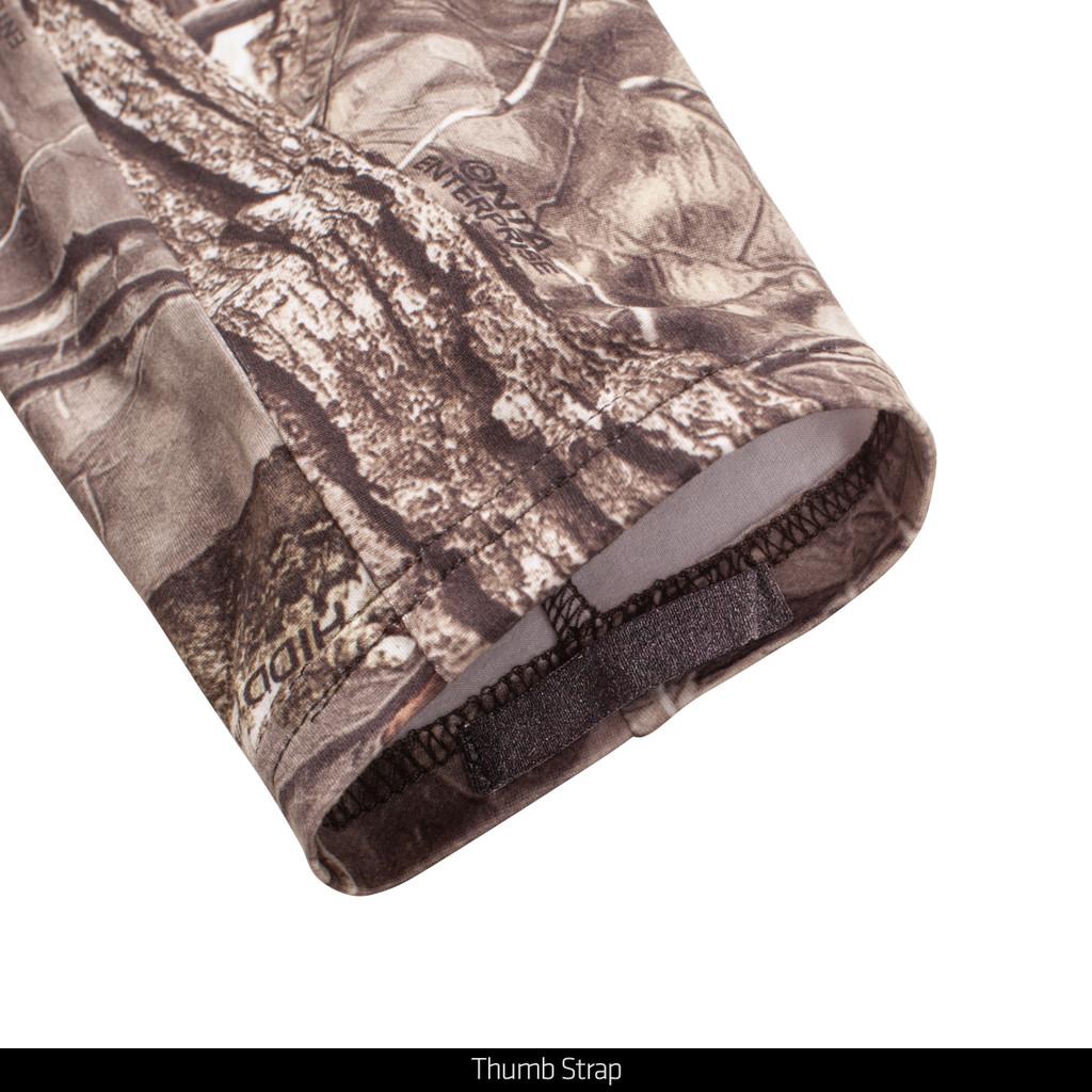 Hidd'n® pattern Hunting Shirt - Thumb strap.