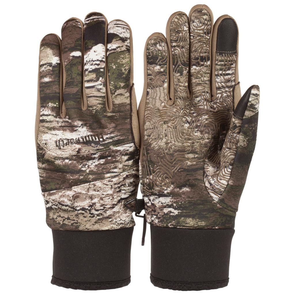 Mne's Tarnen® pattern lightweight Water Resistant Hunting Gloves.