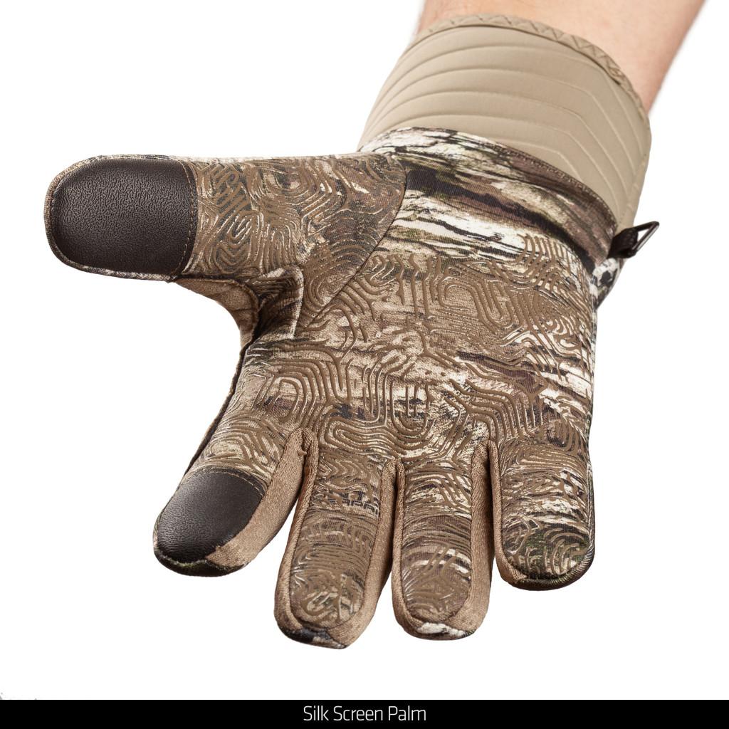 Midweight Waterproof Hunting Gloves - Silk screen palm.
