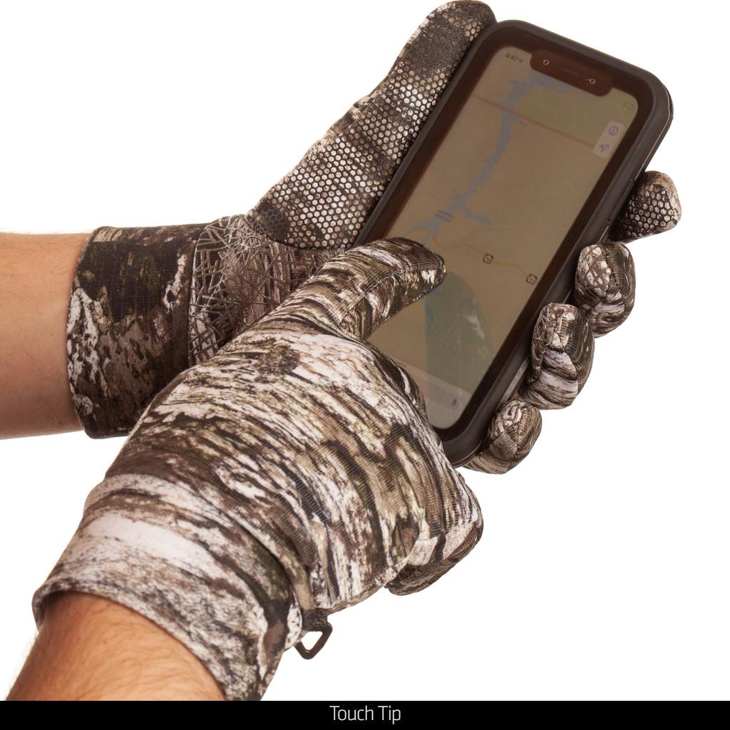 Tarnen® pattern gloves -  Touch tips.