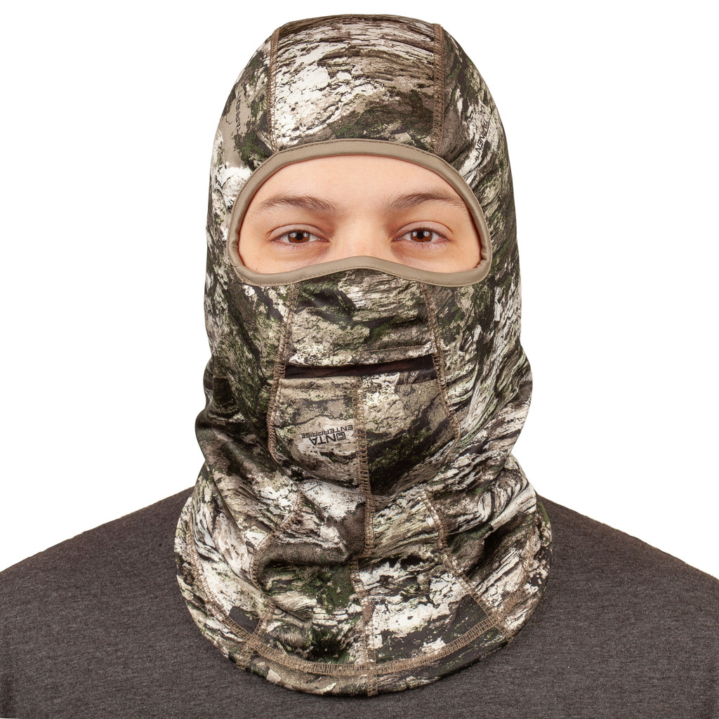 Tarnen® pattern Hunting Balaclava - Full face and head covering.