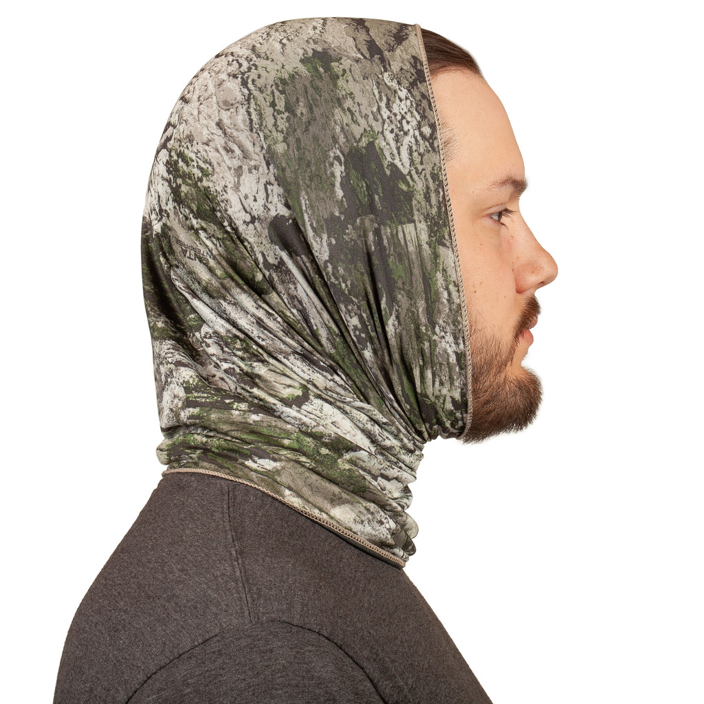 Tarnen® pattern Gaiter - Hood.