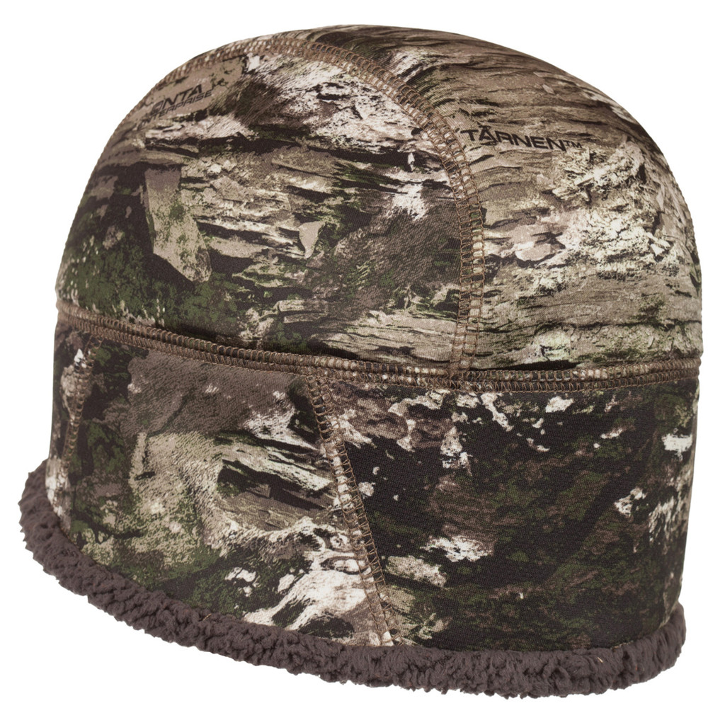 Rear view: Tarnen® Hat - Windproof breathable film.