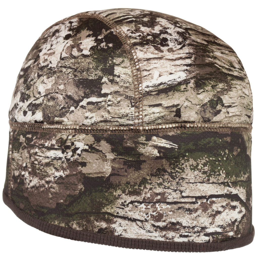 Rear view: Tarnen® Hat - Bonded to windproof breathable film.