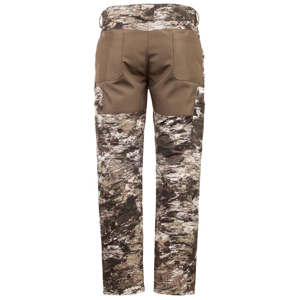 Lightweight camo pants back - abrasion resistant