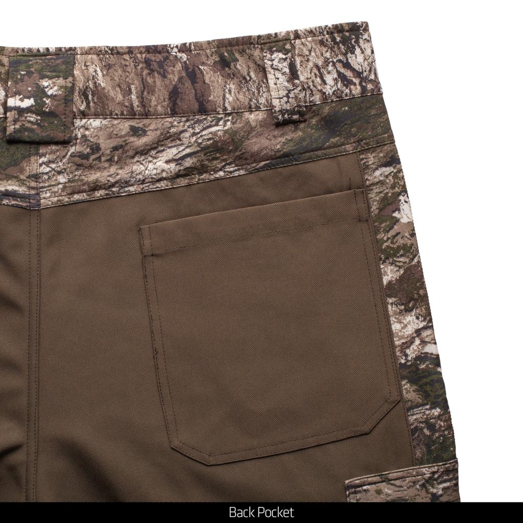 Tarnen® hunting Pants - Back pocket.