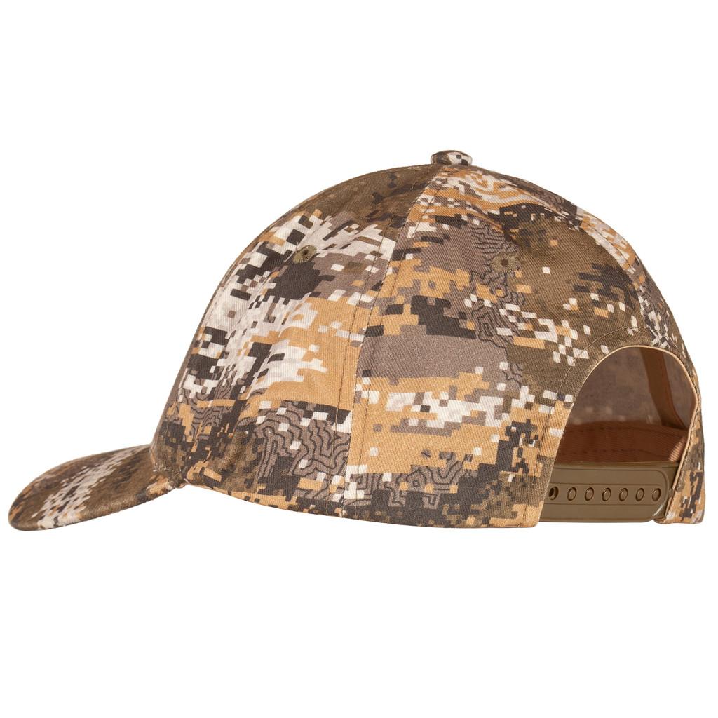 Cotton Twill Hunting Baseball Cap - Pre-curved visor.