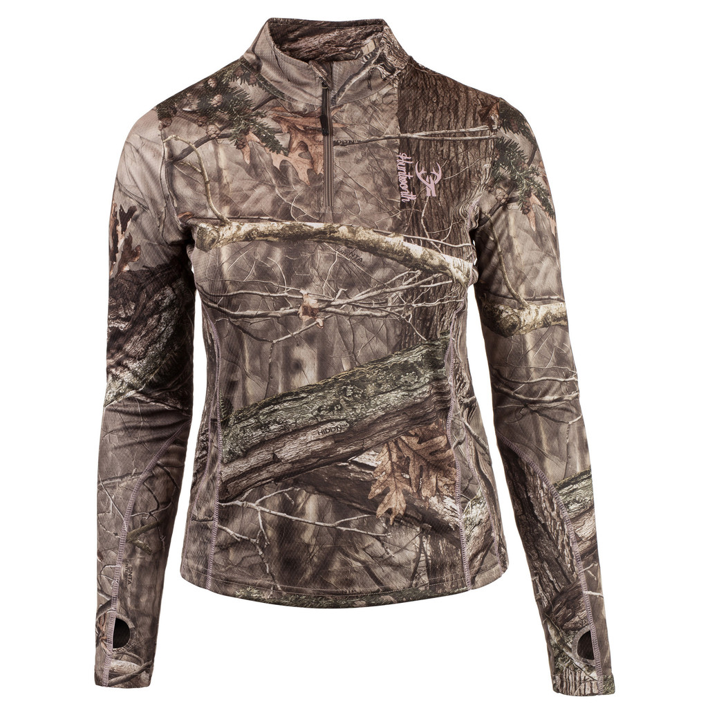 Hidd'n® 1/4 Zip Pullover - High stand collar.