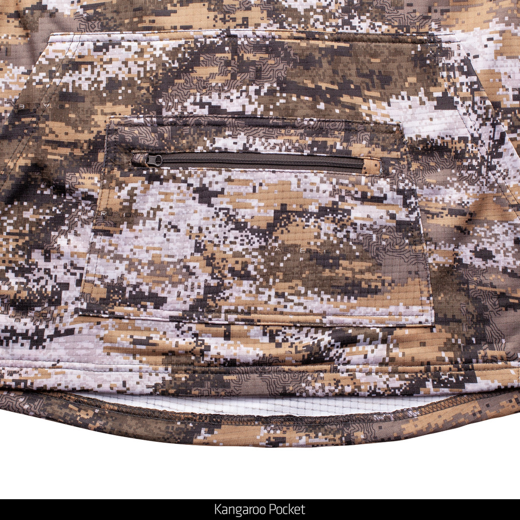 Disruption® hunting hoodie - Kangaroo pocket.