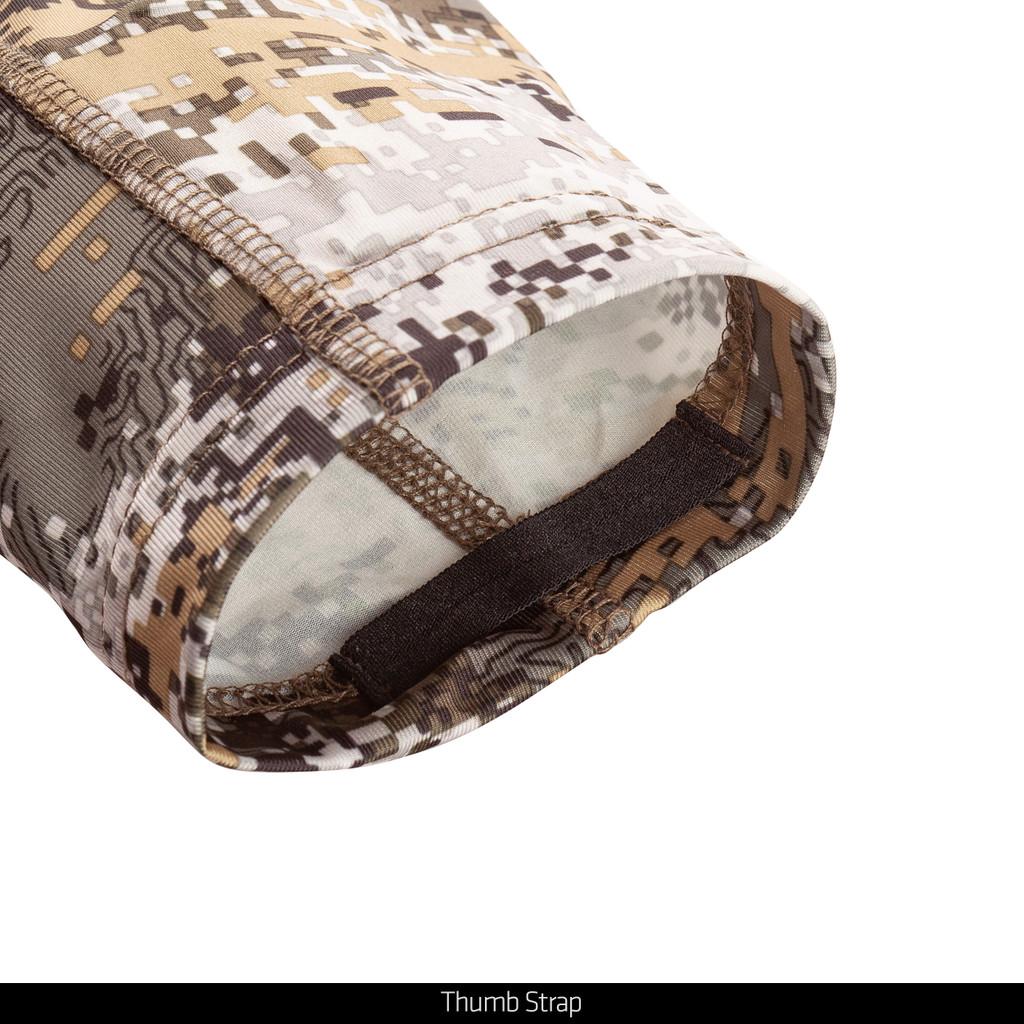Disruption® pattern hunting shirt - Thumb strap.
