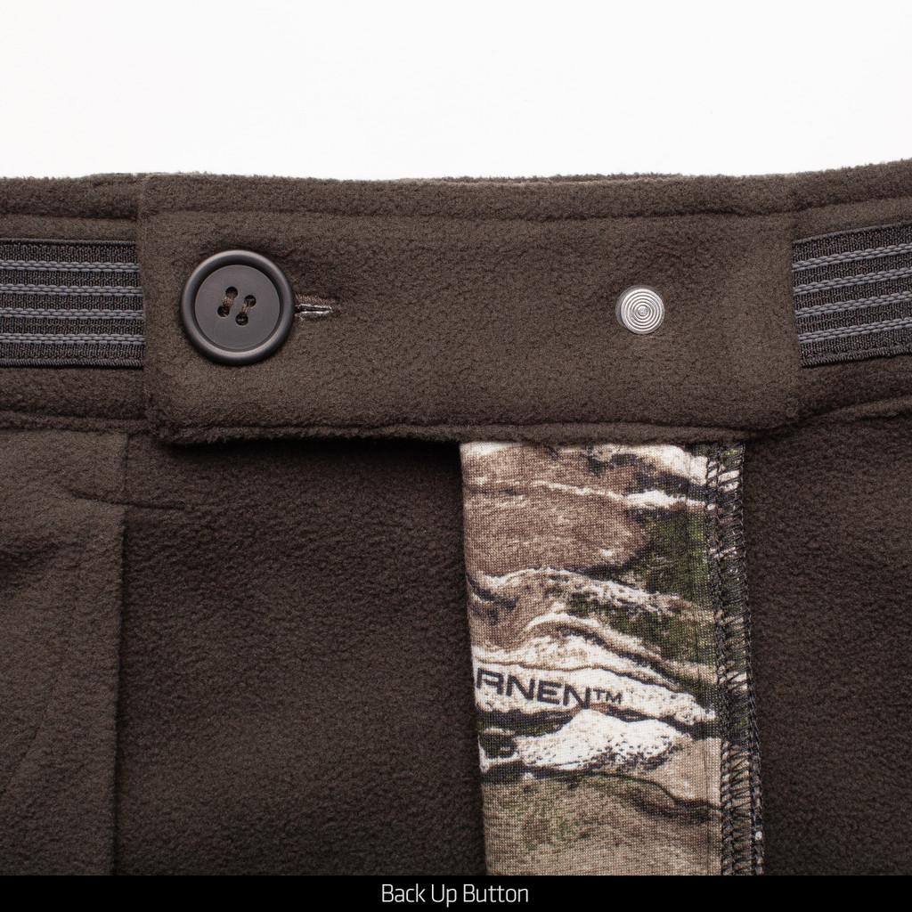 Tarnen® Pattern Pants - Back up button.