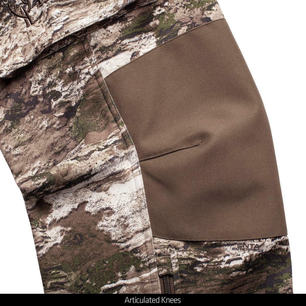 Men's midweight Pants - Articulated knees.