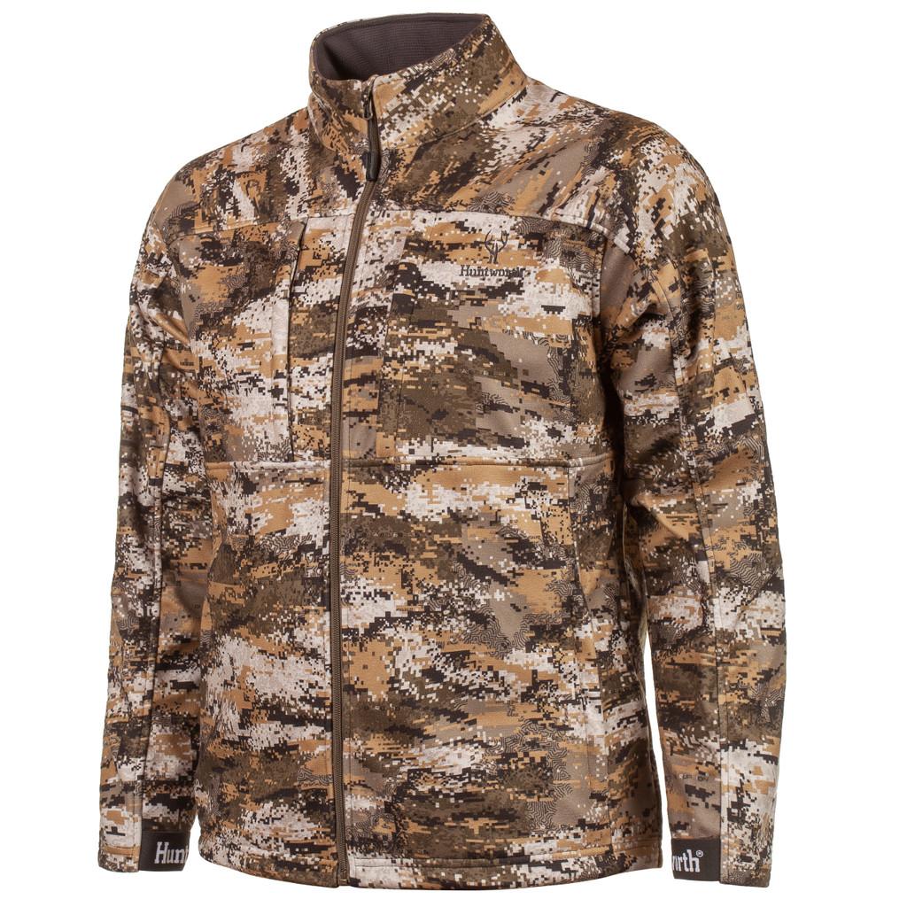 Men's Disruption® pattern Midweight Windproof hunting jacket.
