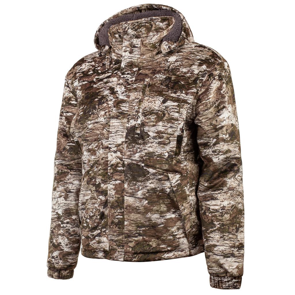 Men's Tarnen® pattern Heavyweight Waterproof Sherpa Lined Hunting Jacket.