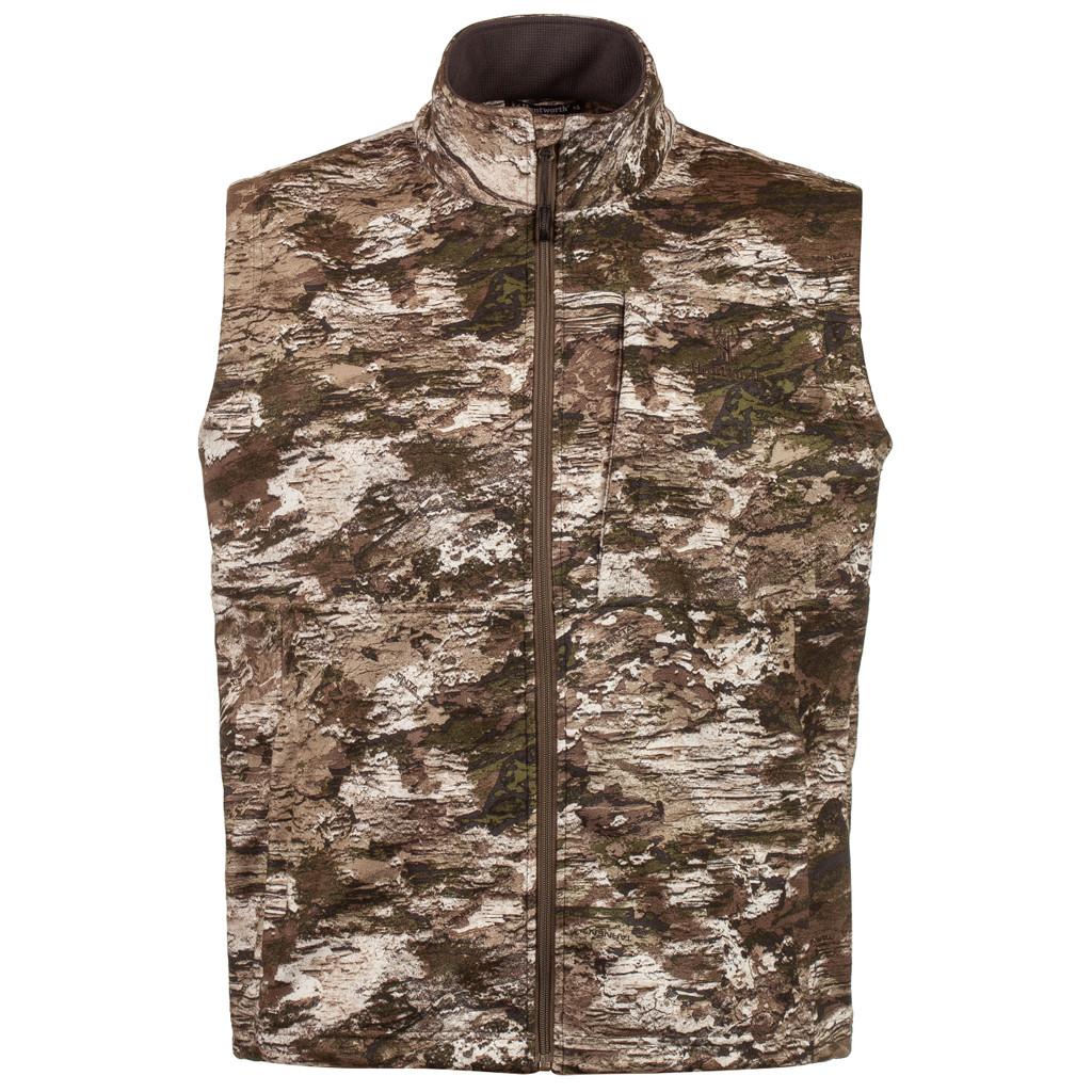 Men's Elkins Midweight, Windproof, Soft Shell Grid-Fleece-Interior Hunting Vest - Tarnen®