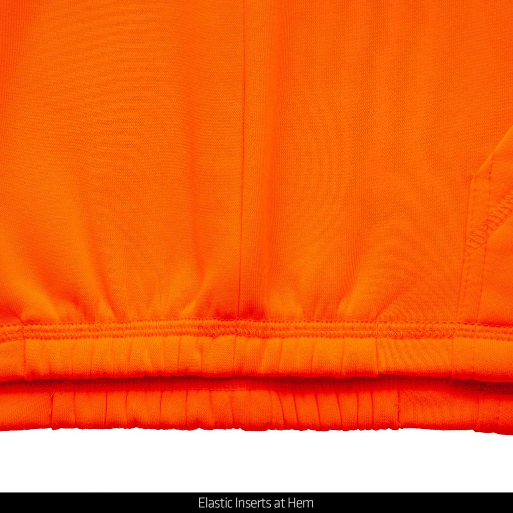Men's hunting hoodie - Elastic Inserts at hem.