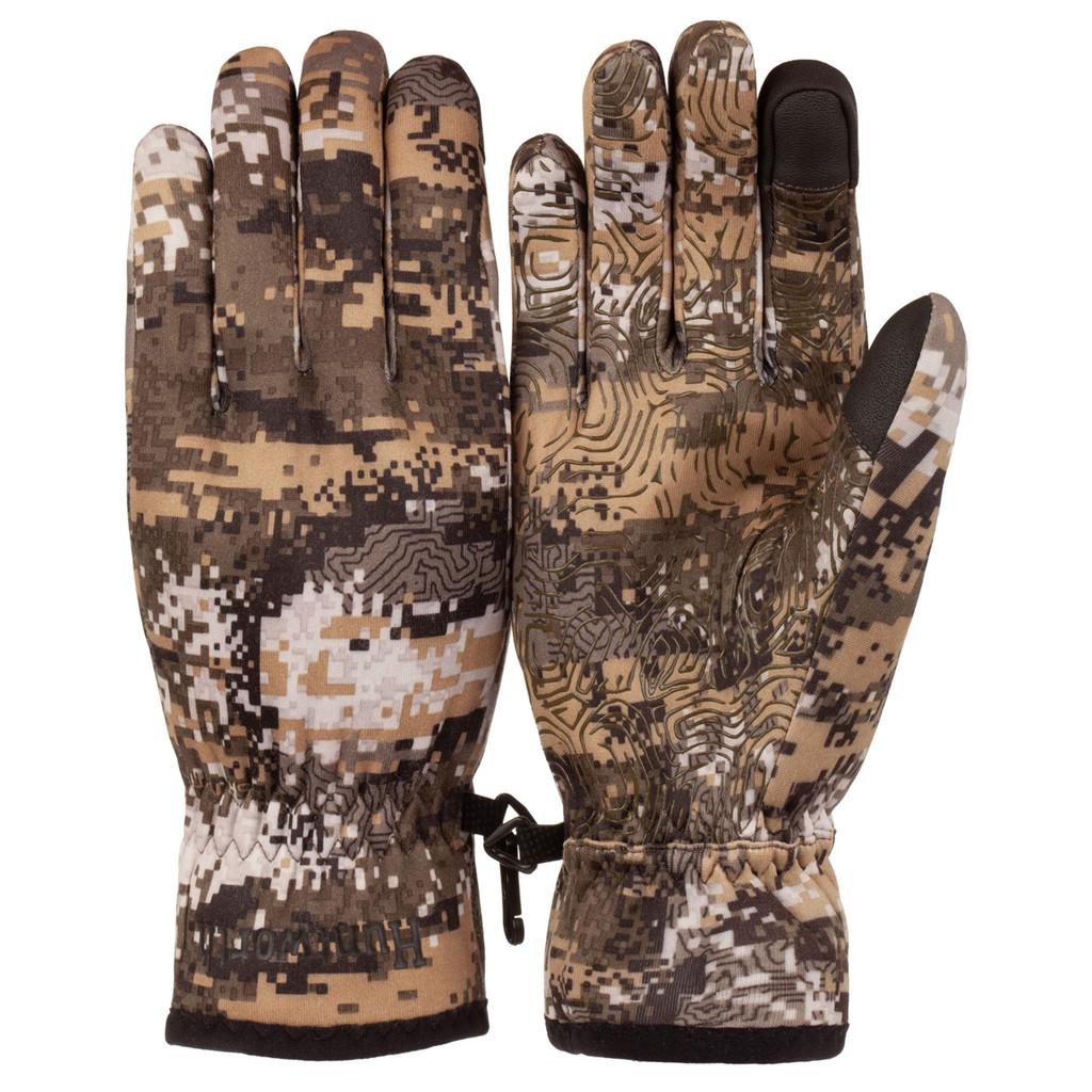 Men's Disruption® pattern midweight Waterproof Hunting Gloves.