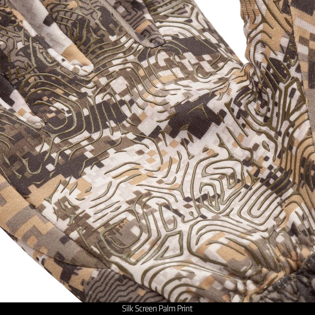 Disruption® gloves - Silk Screen Palm print.