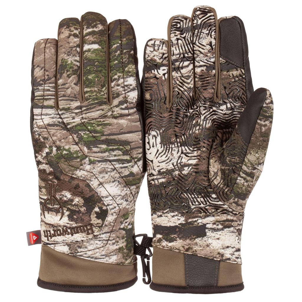 Men's Tarnen® pattern heavyweight Waterproof Hunting Gloves.