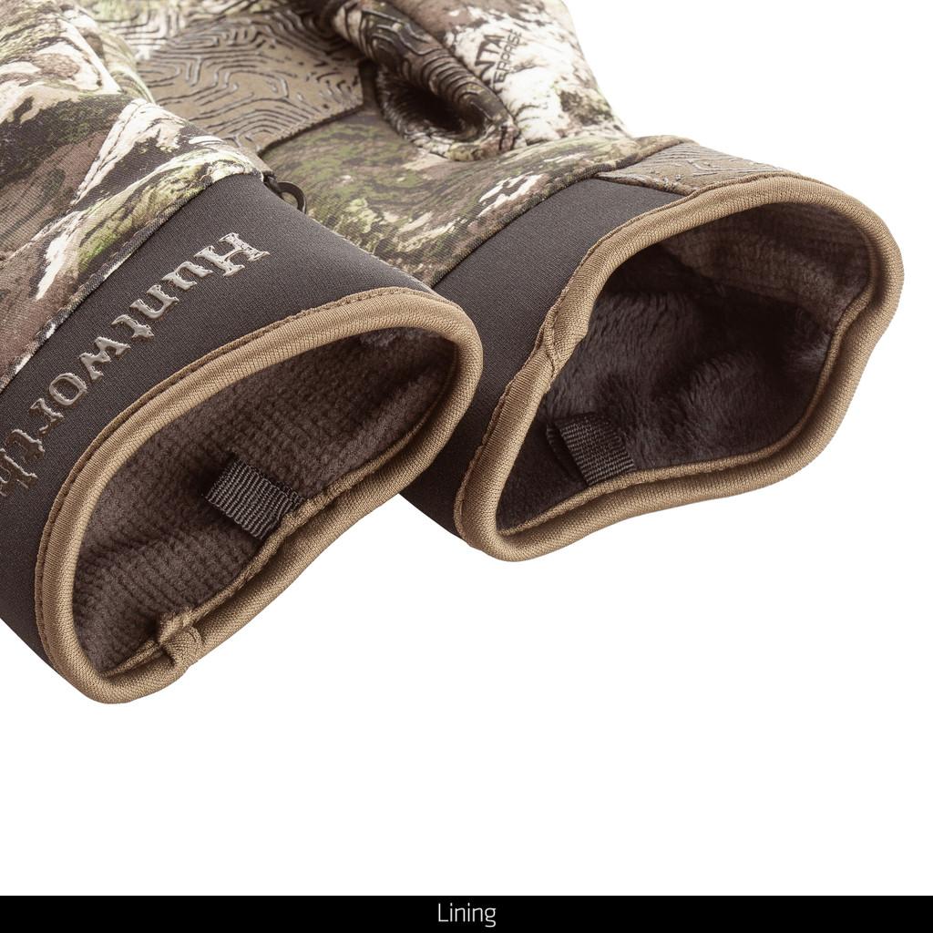 Tarnen® pattern Hunting Gloves - Lining.