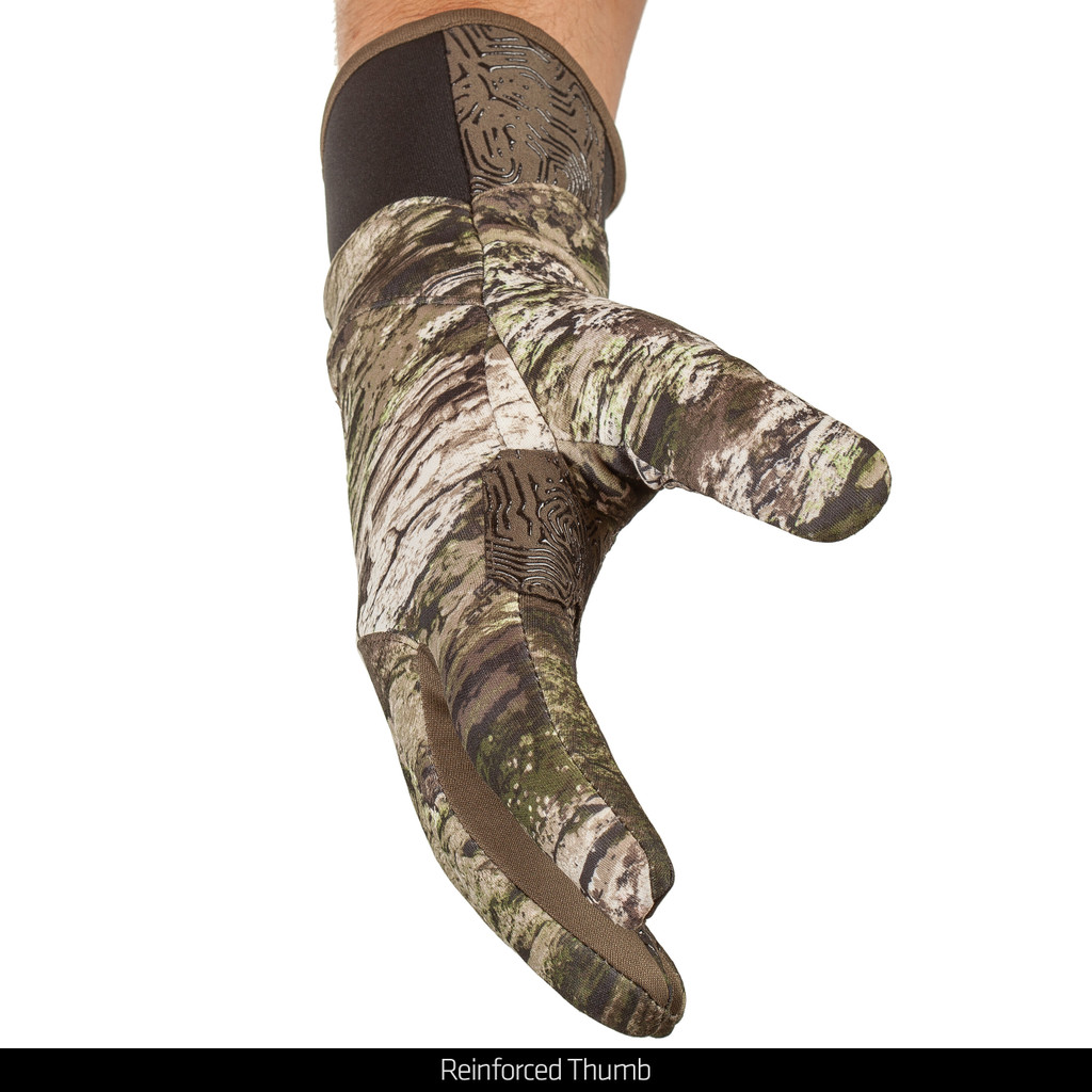 Tarnen® pattern Gloves - Reinforced thumb.