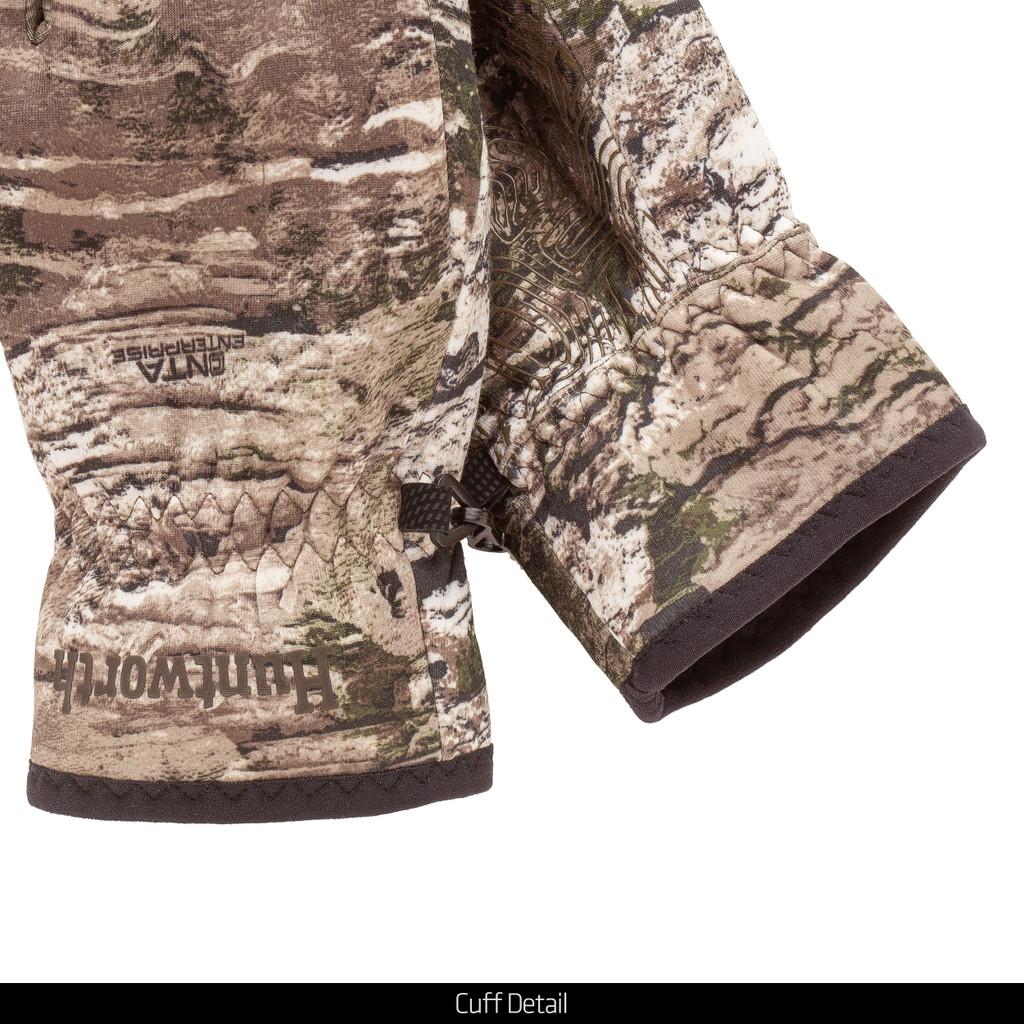 Tarnen® pattern gloves - Cuff details.